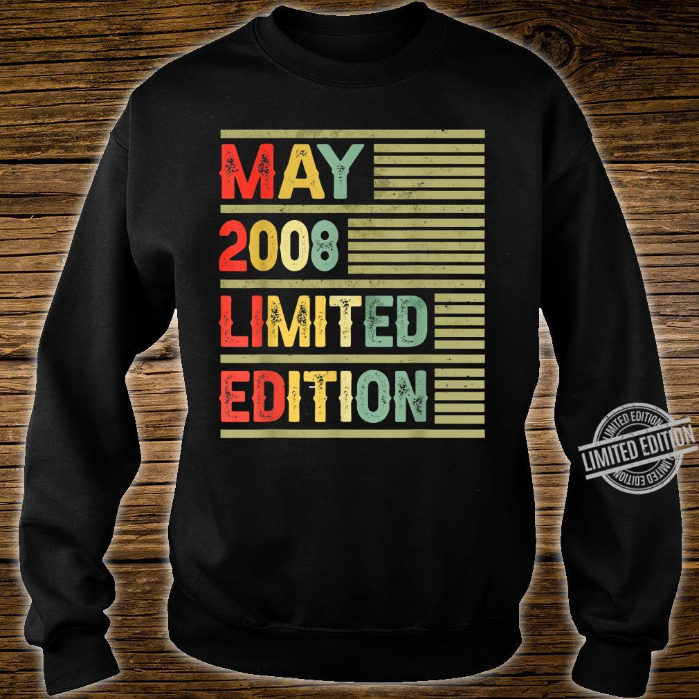 May 2008 Limited Edition Retro Vintage 12th Birthday Shirt sweater
