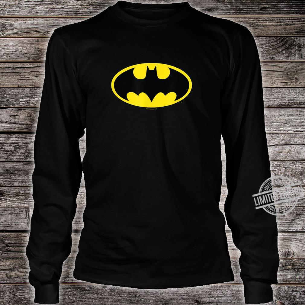 Mens Batman Classic Logo Shirt long sleeved