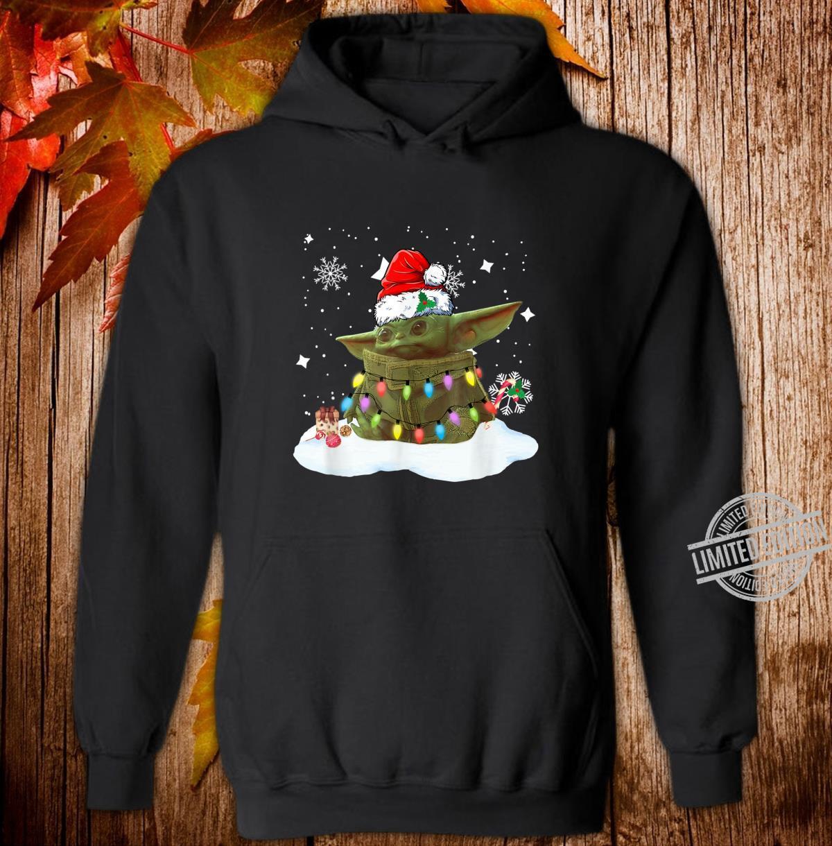 Merry Christmas Movie The Mandalorian Shirt hoodie