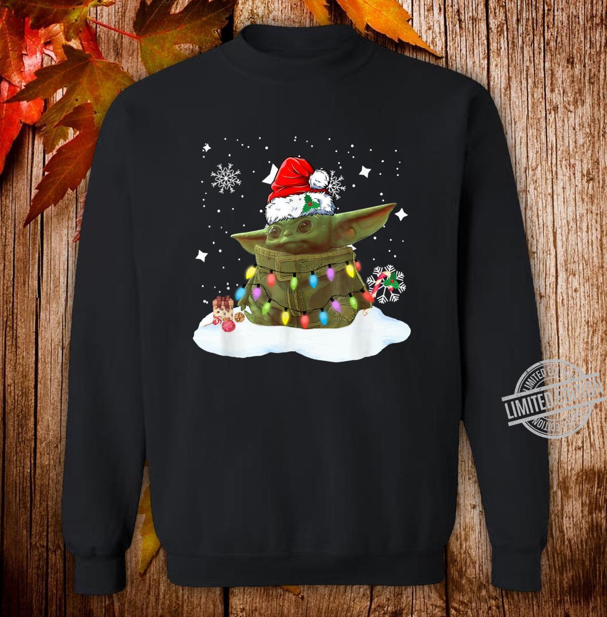 Merry Christmas Movie The Mandalorian Shirt sweater