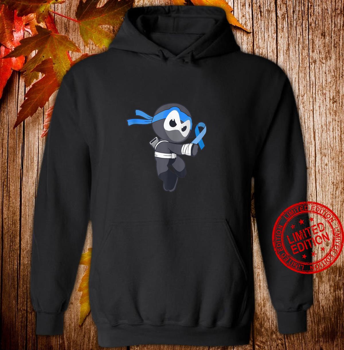 Ninja Apraxia Awareness Speech Disorder Martial Arts Shirt hoodie