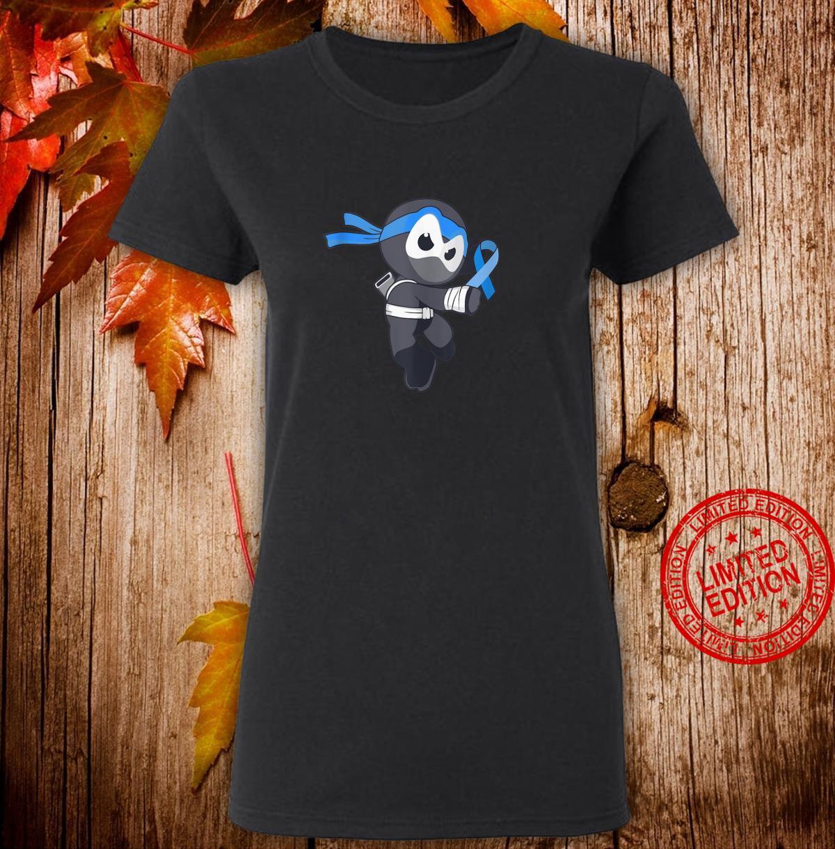 Ninja Apraxia Awareness Speech Disorder Martial Arts Shirt ladies tee