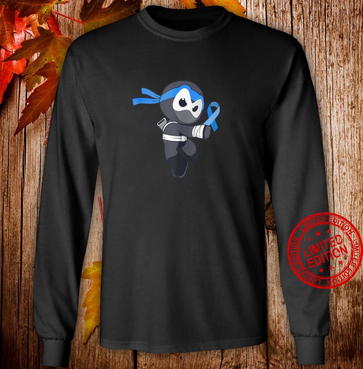 Ninja Apraxia Awareness Speech Disorder Martial Arts Shirt long sleeved