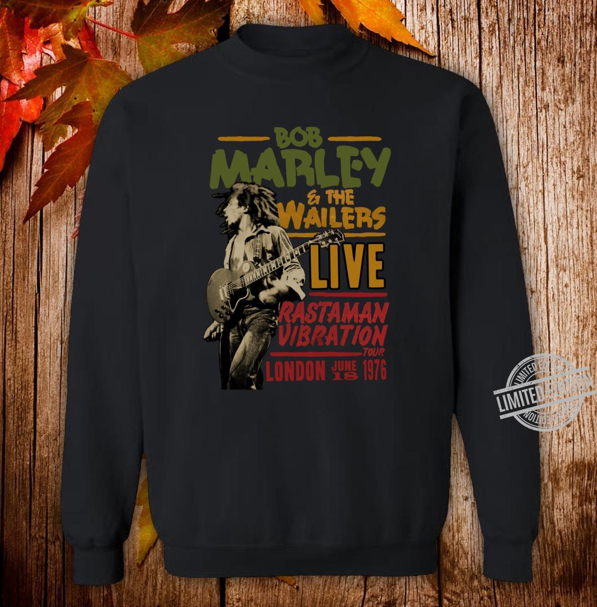 Official Wailers Rastaman Vibration London 1976 Shirt sweater