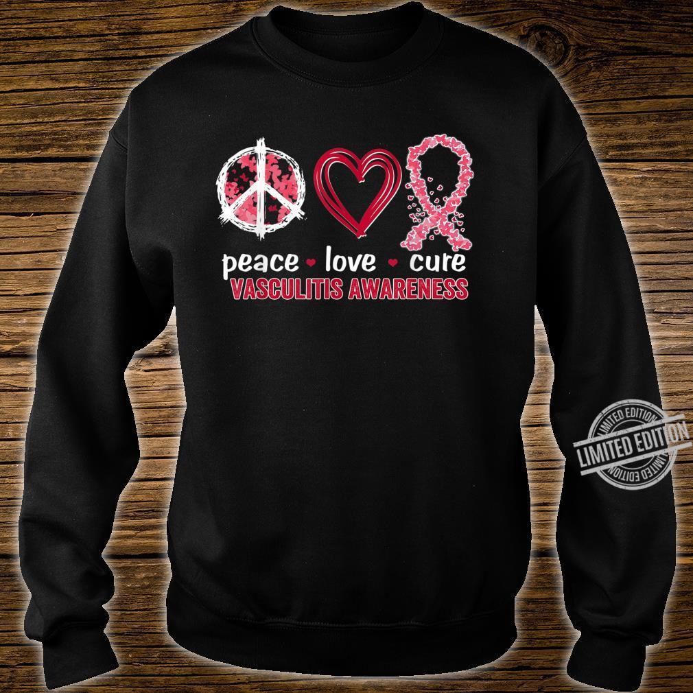 Peace Love Cure Vasculitis Awareness Shirt sweater