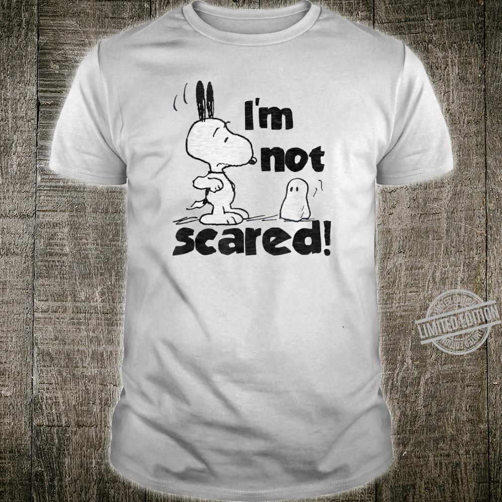 Peanuts Halloween Snoopy Nicht Erschrecken Shirt