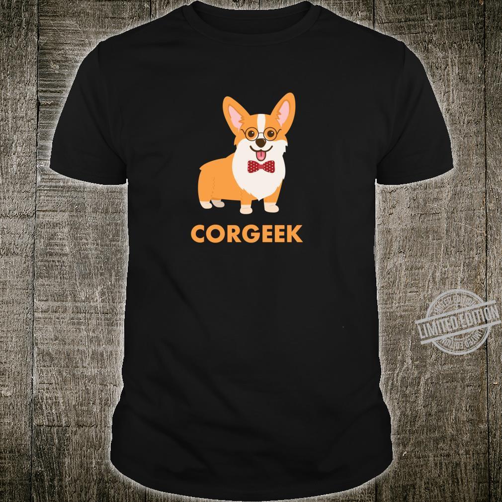 Pembroke Waliser Corgi Corgeek Shirt