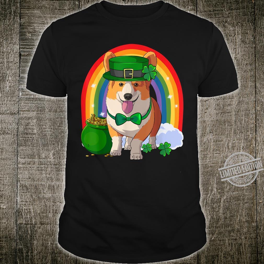 Pembroke Welsh Corgi Lucky Leprechaun Dog St. Patricks Day Shirt