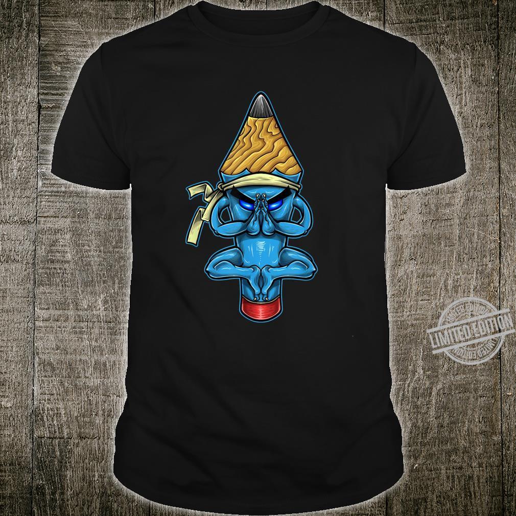 Pencil Monk Character Shirt