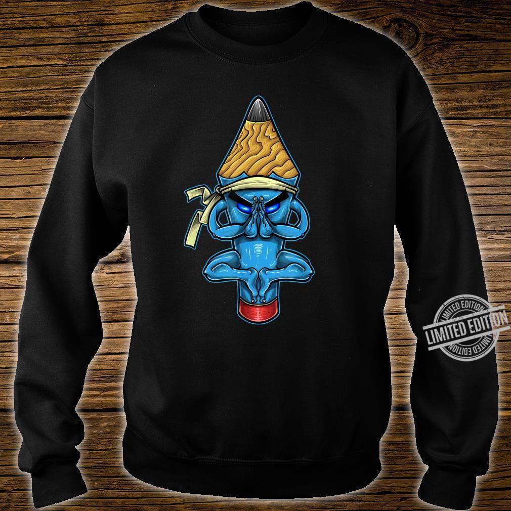 Pencil Monk Character Shirt sweater