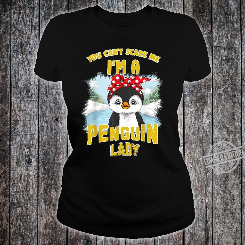 Penguin Lady Shirt ladies tee