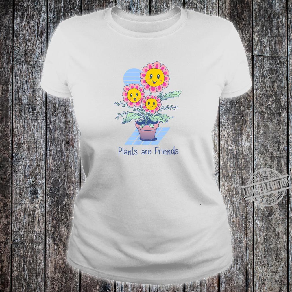 Pflanzen sind Freunde Shirt ladies tee