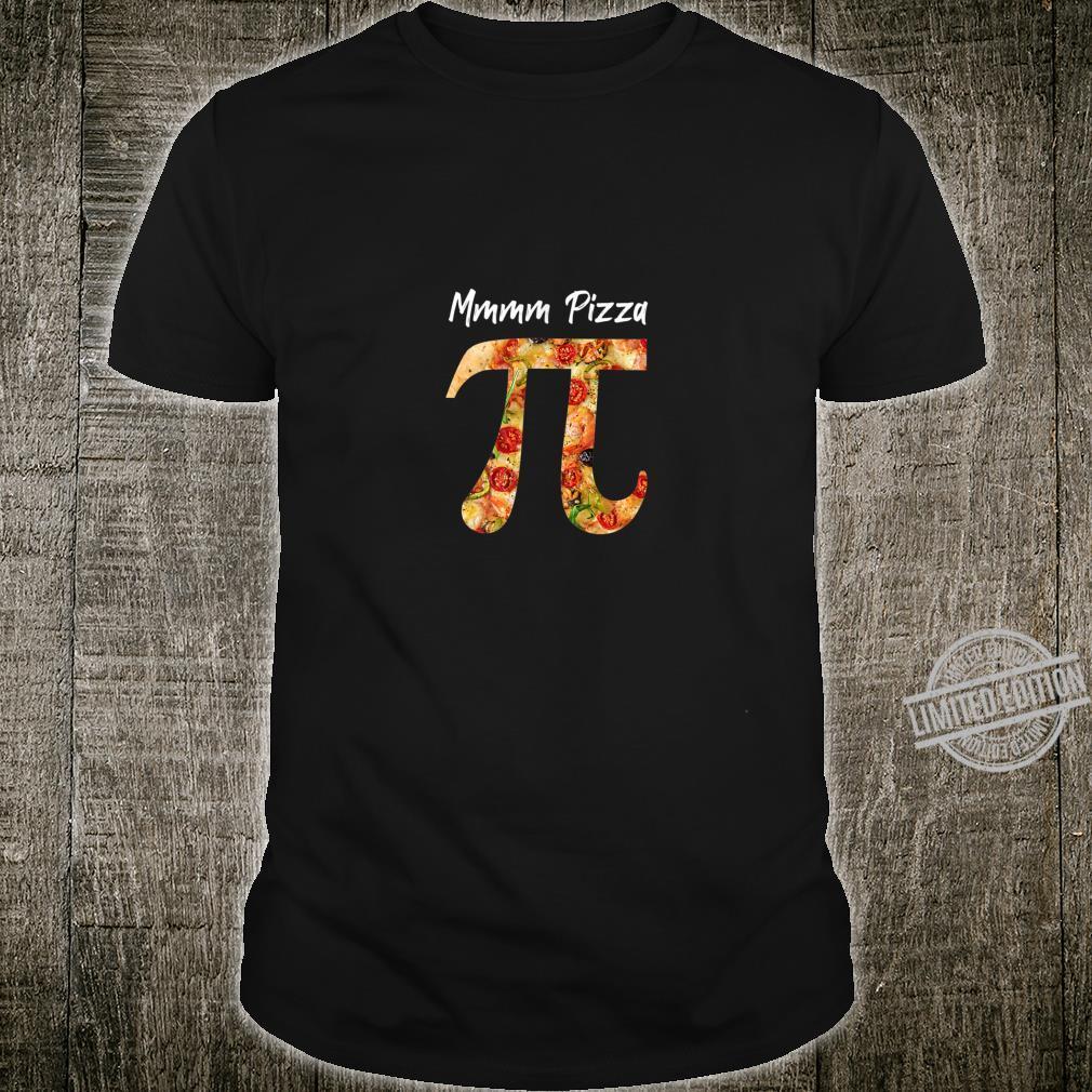 Pi Food Pizza Math Science Shirt