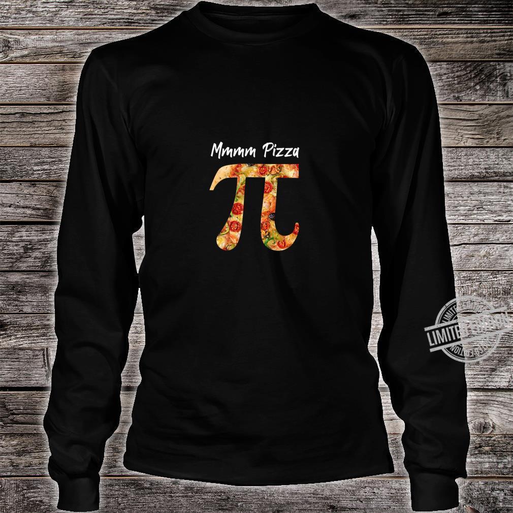 Pi Food Pizza Math Science Shirt long sleeved