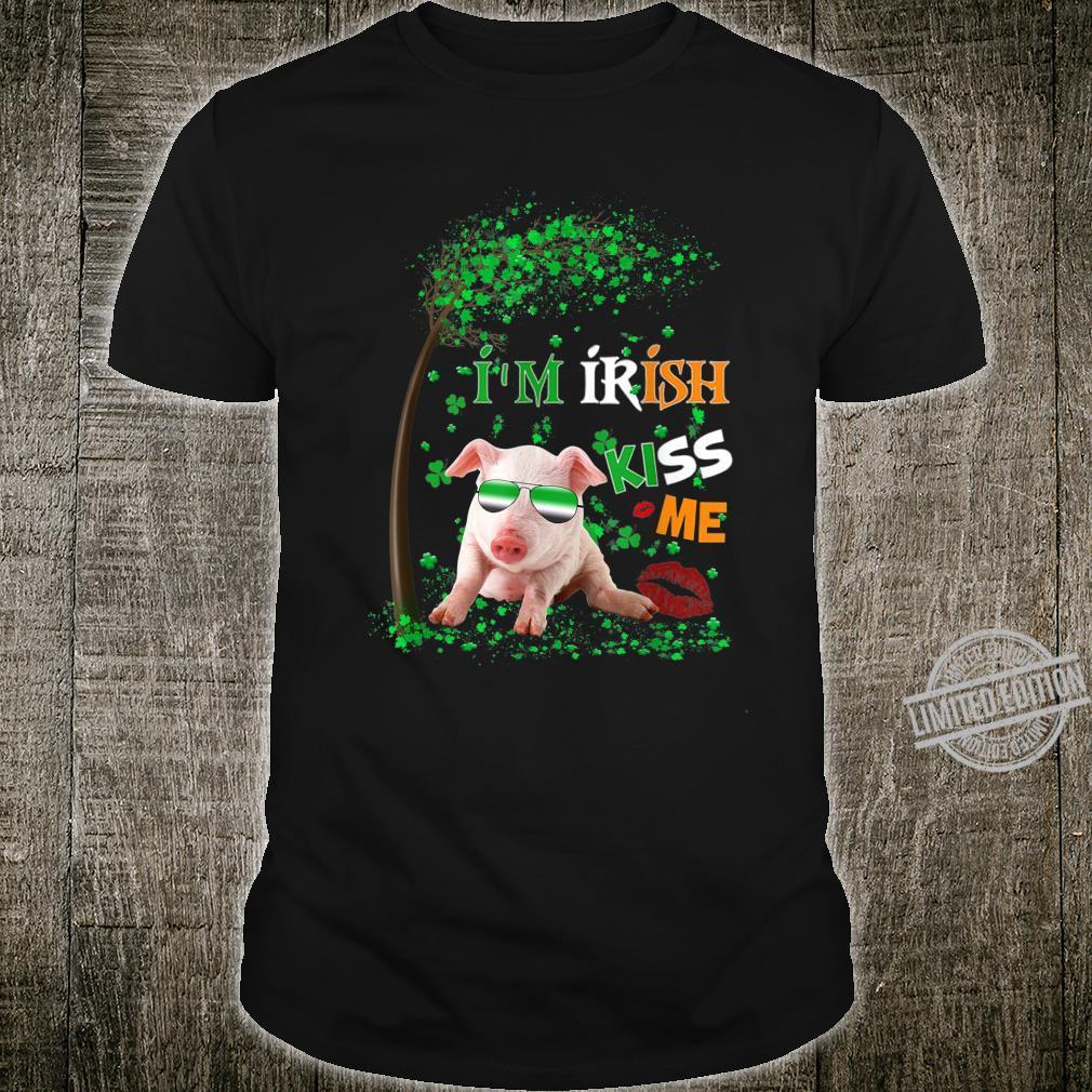 Pig I Am Irish Kiss Me Lucky St. Patricks Day Shirt