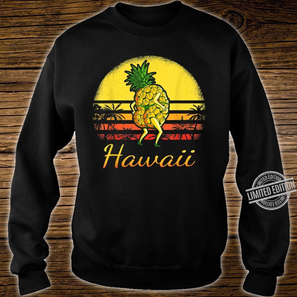 Pineapple Hawaiian Vacation Tropical Hawaii Vintage Sexy Sun Shirt sweater