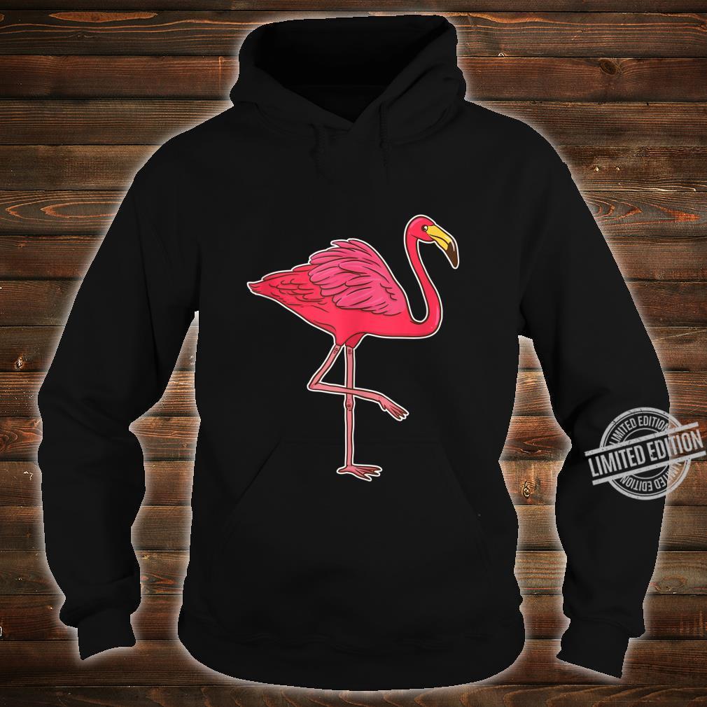 Pink Flamingo Tropical Beach Vacation Pool Party Bird Shirt hoodie