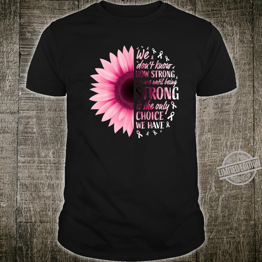 Pink Ribbon Survivor Fighter Breast Cancer Awareness Shirt