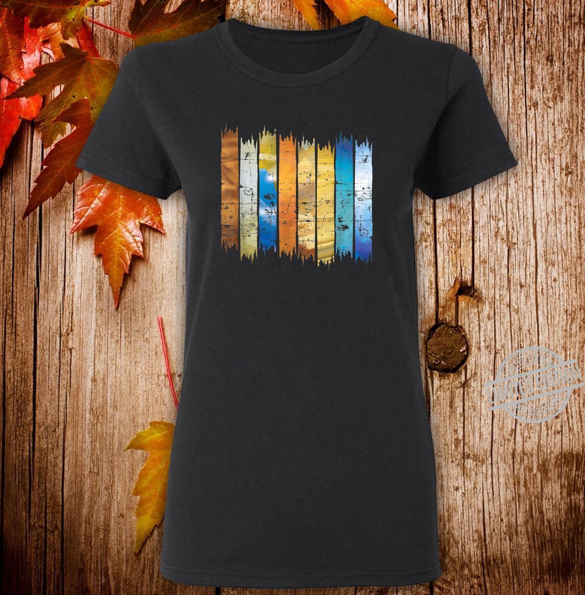Planet Scientist Astronomer Universe Astronomy Shirt ladies tee