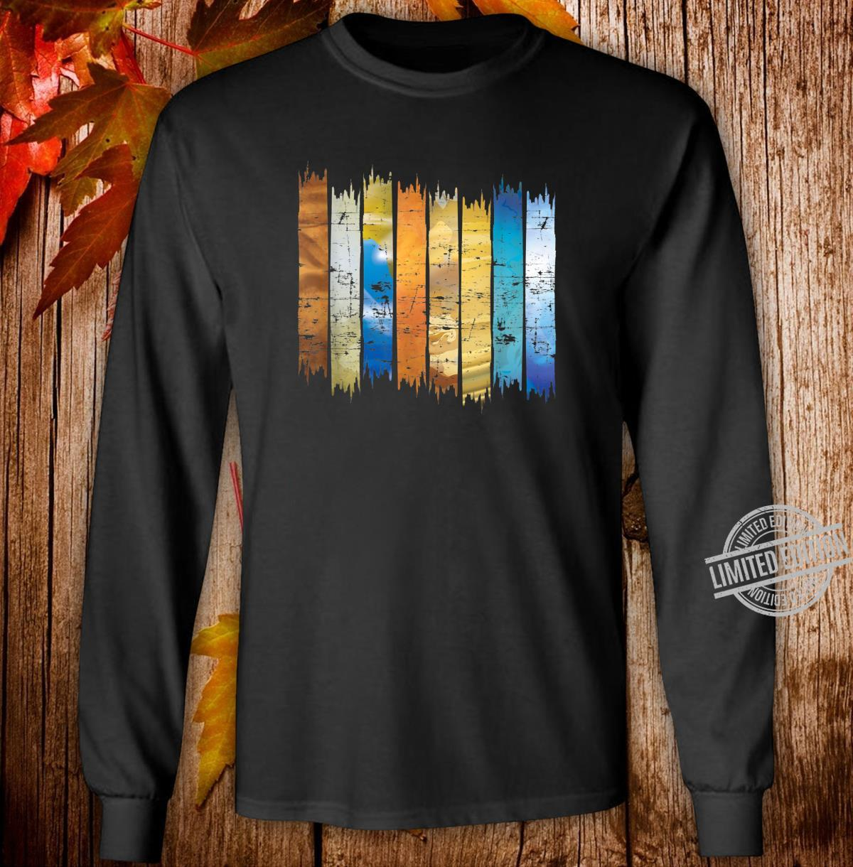 Planet Scientist Astronomer Universe Astronomy Shirt long sleeved