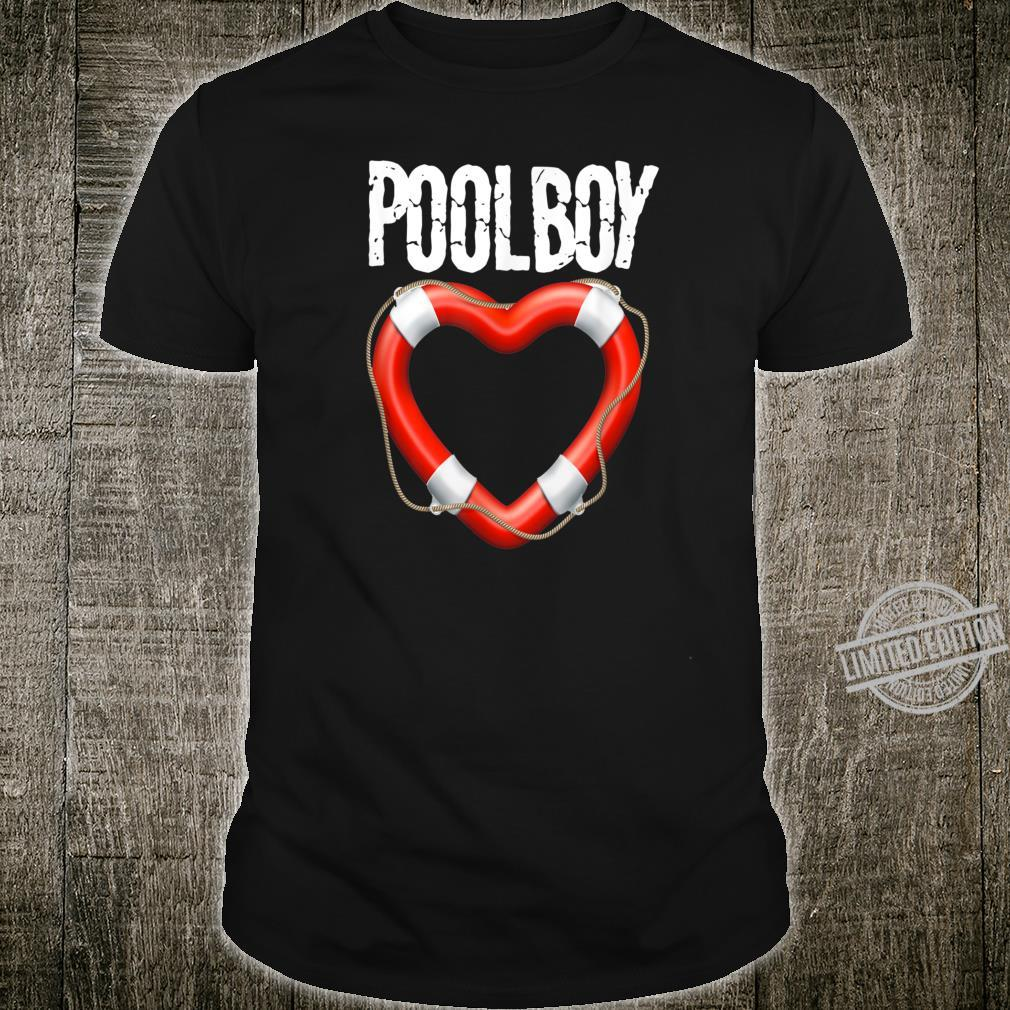 Pool Boy Swimming Pool Bademeister Rettungsschwimmer Shirt