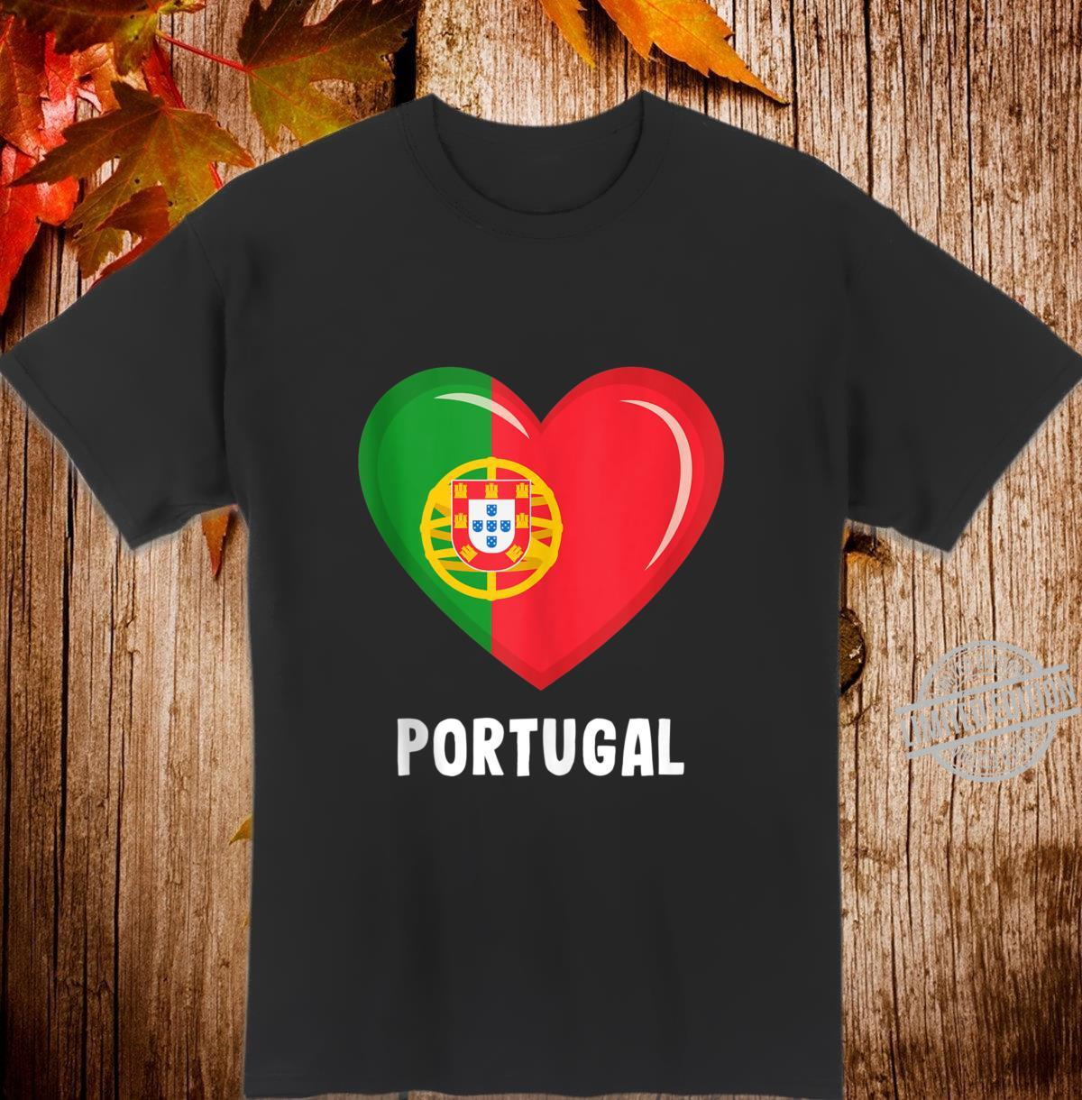 Portugal Flags Portuguese Shirt