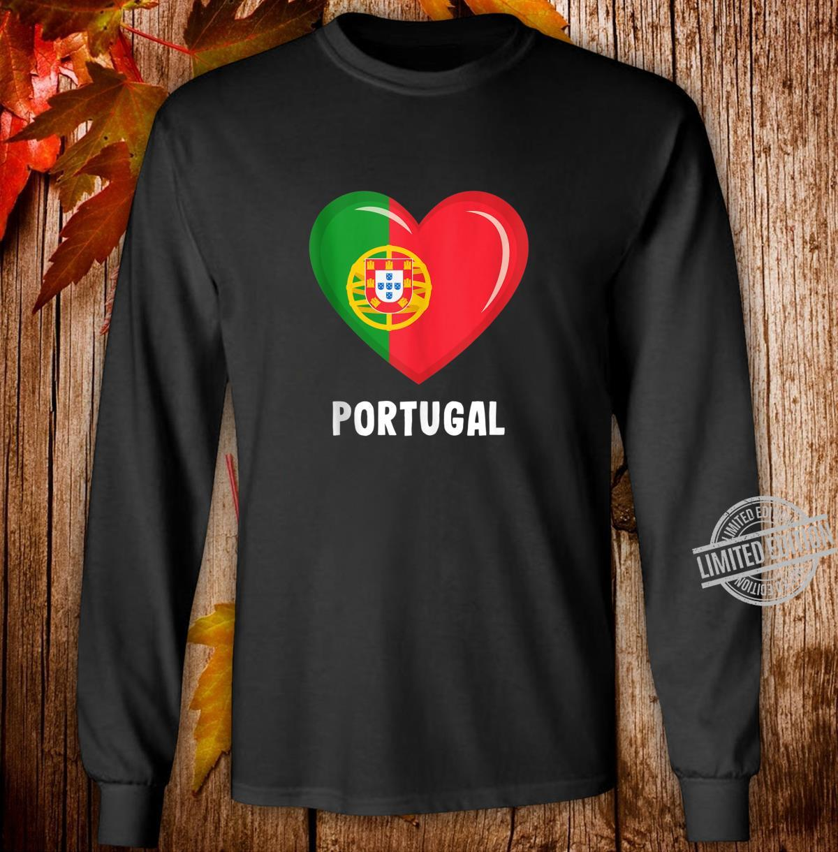 Portugal Flags Portuguese Shirt long sleeved