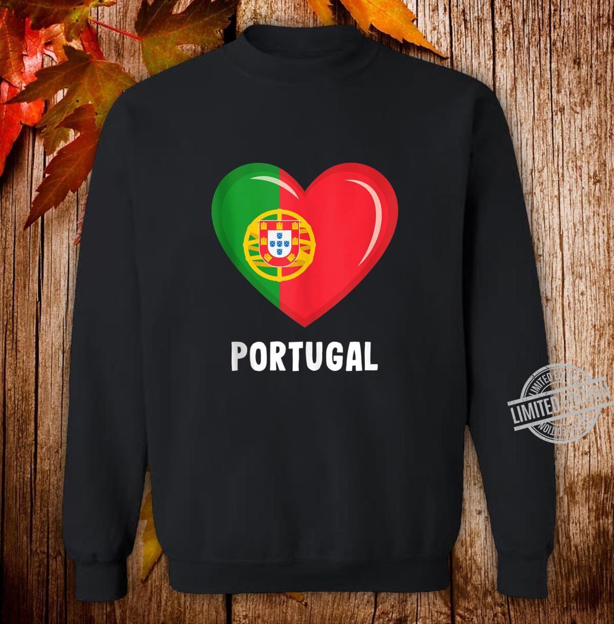 Portugal Flags Portuguese Shirt sweater
