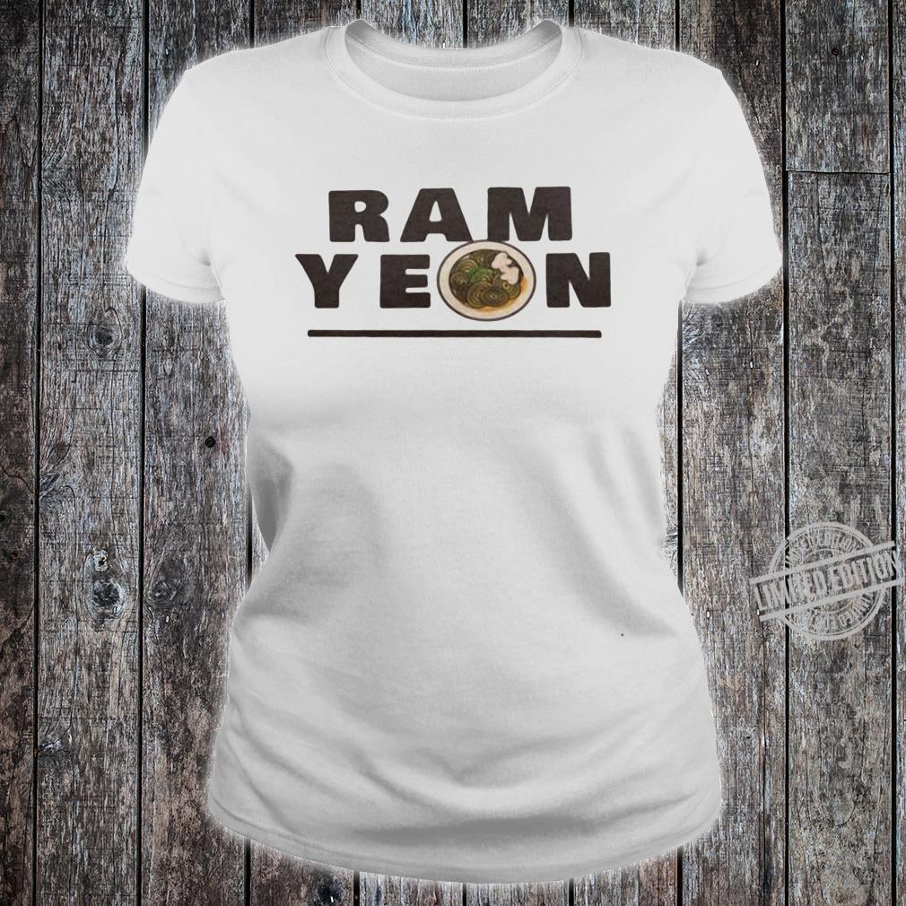 Ram yeon shirt ladies tee