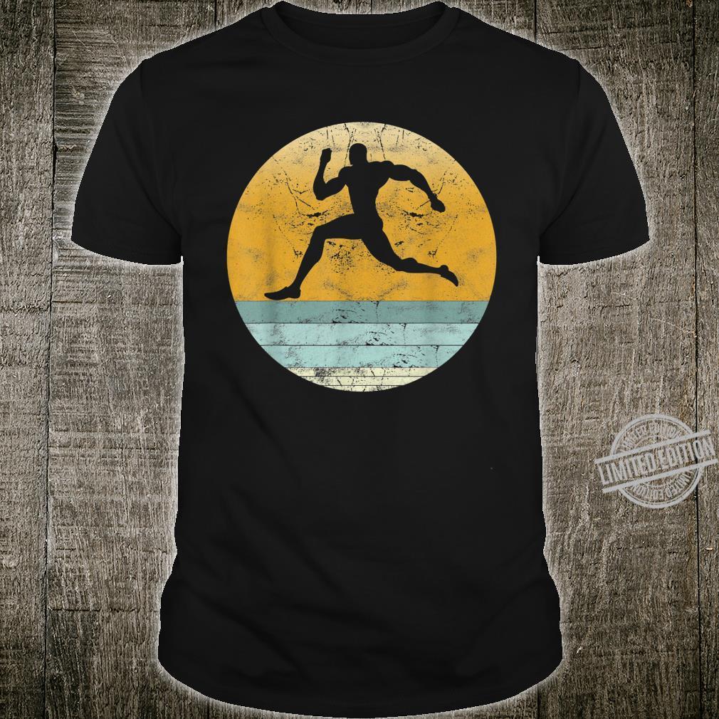 Retro Sprinter Vintage Style Running Sport & Shirt