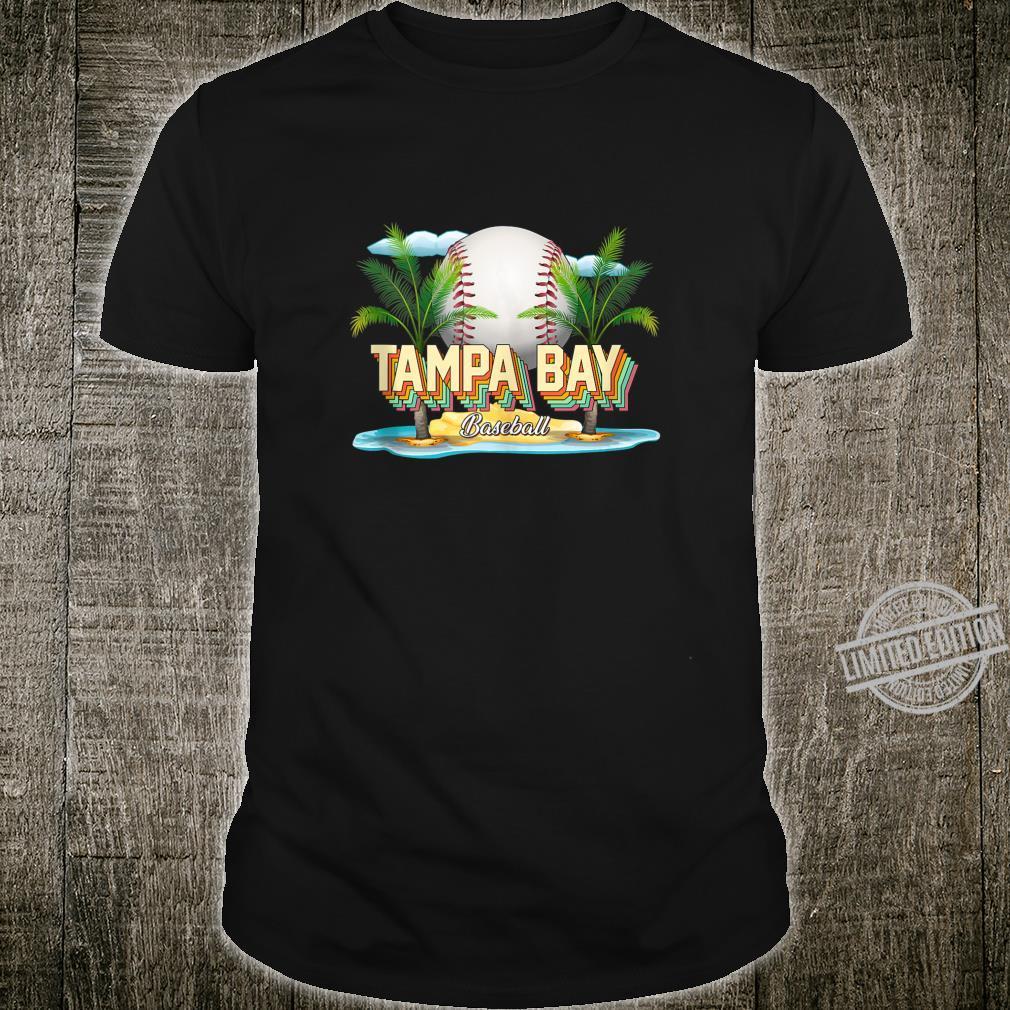 Retro Tampa Bay FL Baseball Shirt for Baseballs Shirt