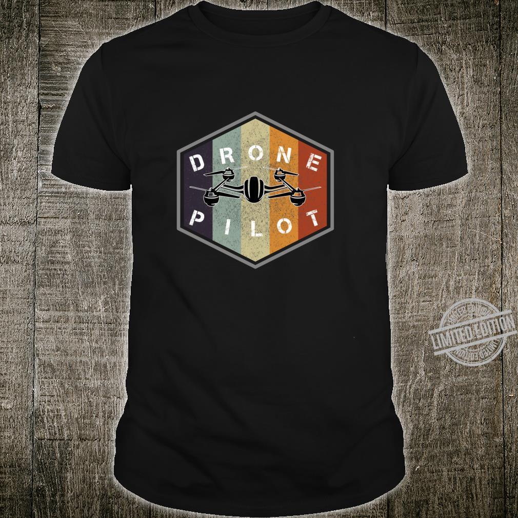 Retro vintage grunge drone pilot idea Shirt