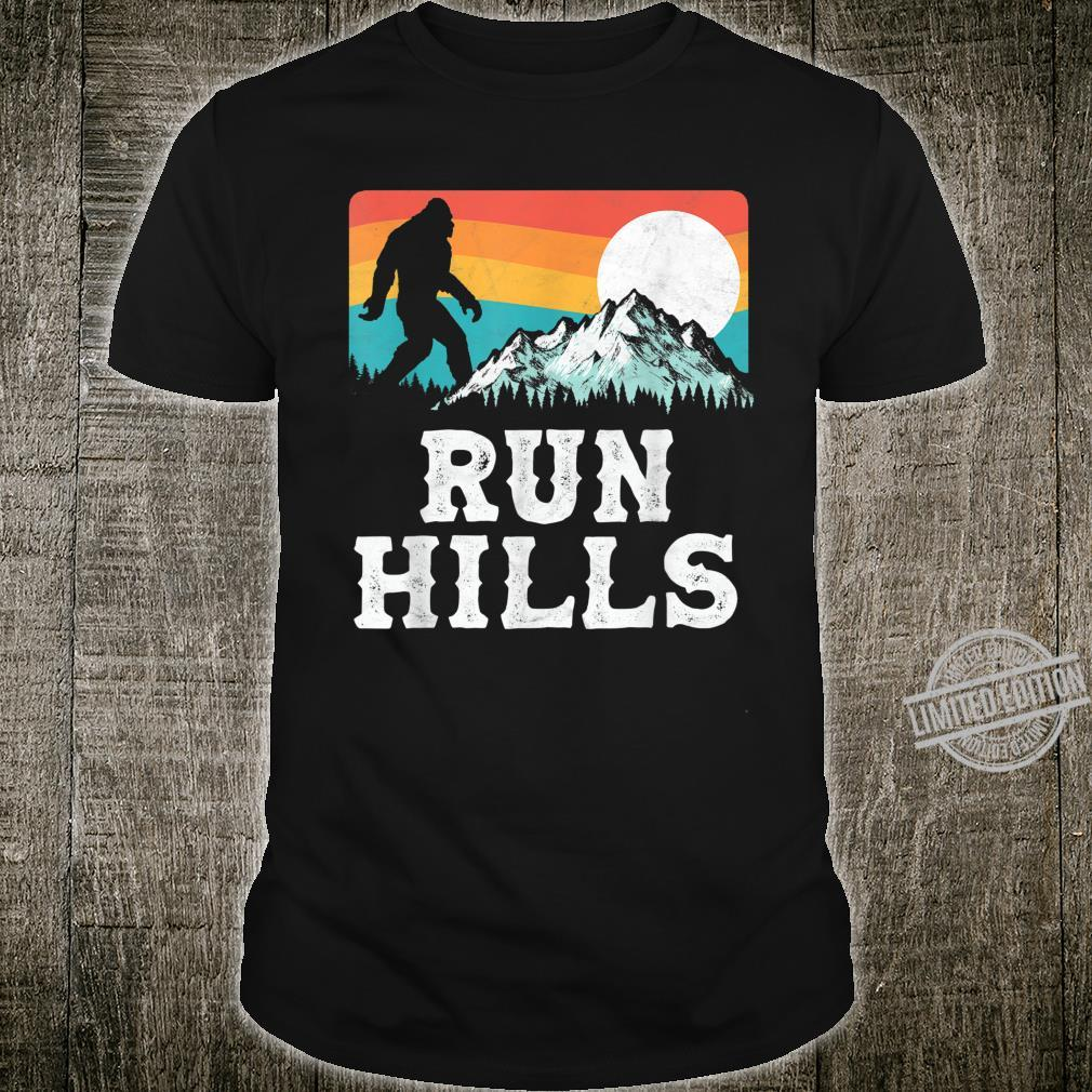 Run Hills Bigfoot Mountains 80's Vintage Runner Shirt