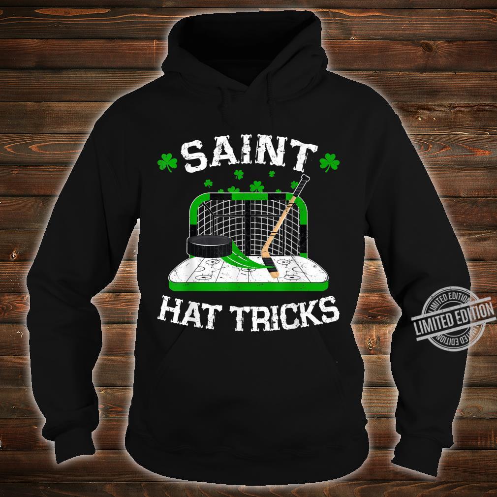 Saint Hat Tricks Hockey Shirt Hockey St. Patrick's Day Shirt hoodie