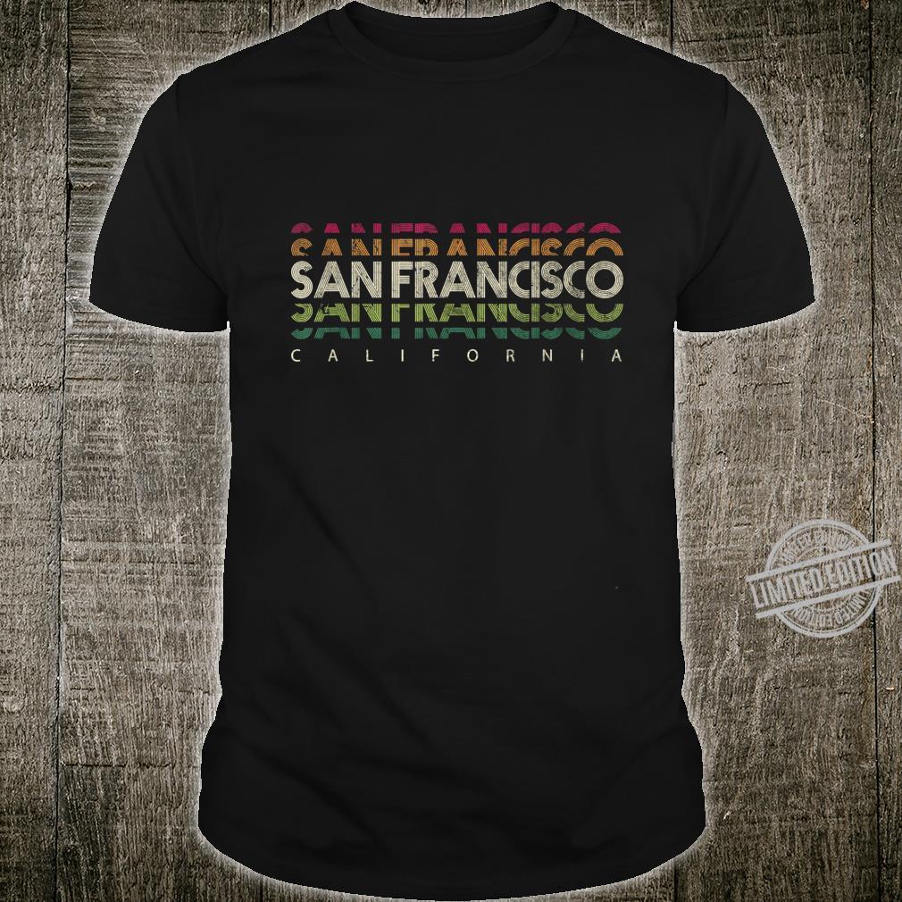 San Francisco California, Golden Gate Bridge San Francisco Shirt