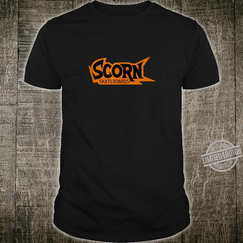 Scorn Skateboards OG Orange Logo Shirt