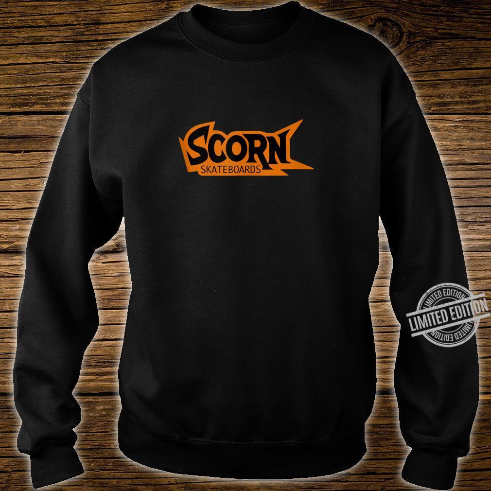 Scorn Skateboards OG Orange Logo Shirt sweater