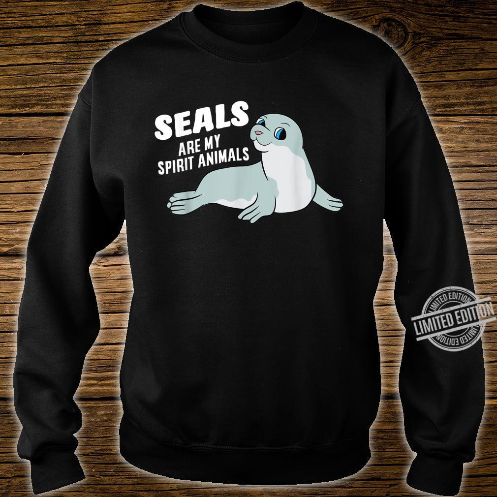 Seals Are My Spirit Animal Seals Shirt sweater