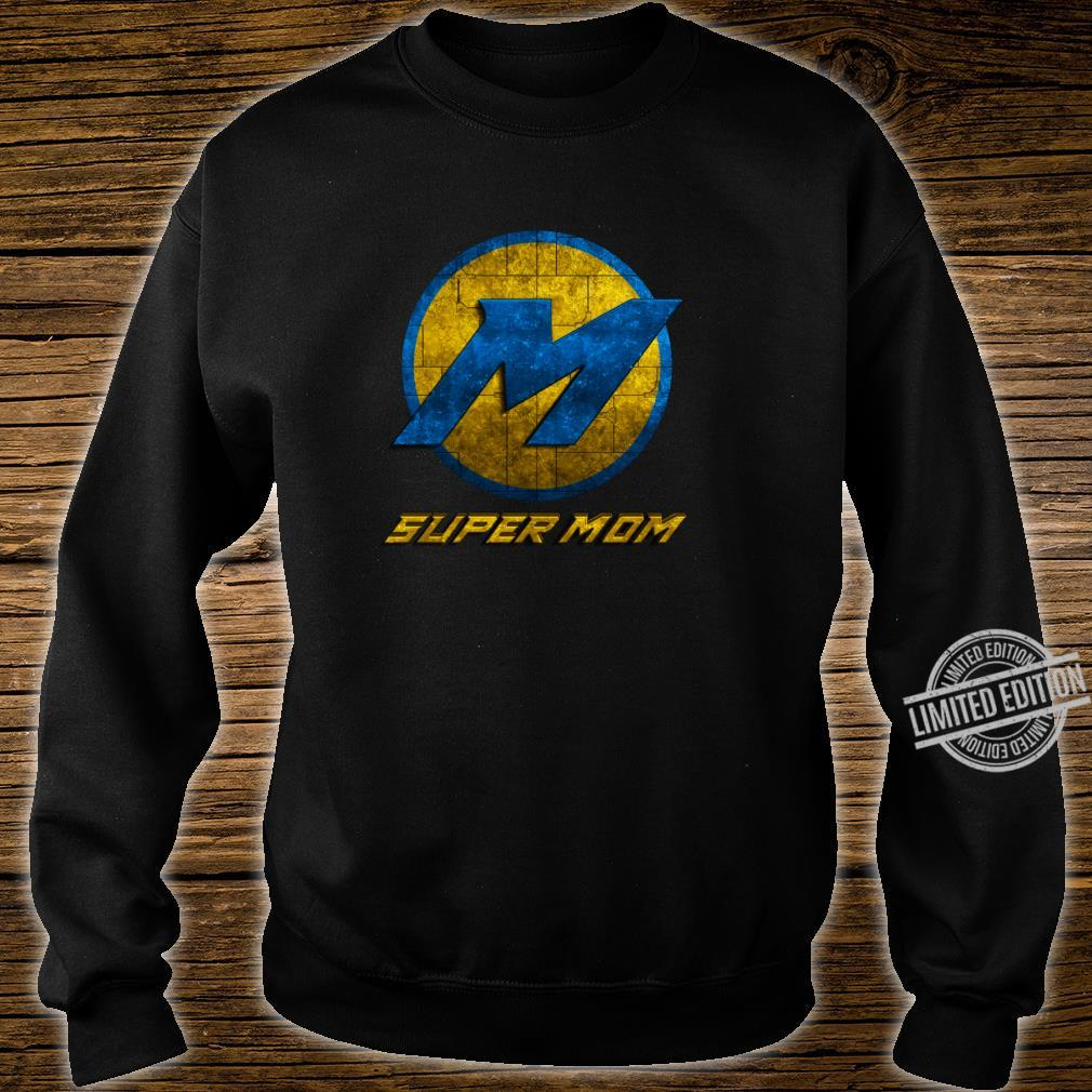 Super Mom Cool Mother Day Superhero Best Mommy Mama Xmas Shirt sweater