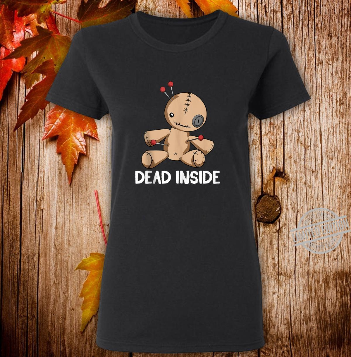 Thinking of You Voodoo Doll Witchcraft Spells Dolls Shirt ladies tee