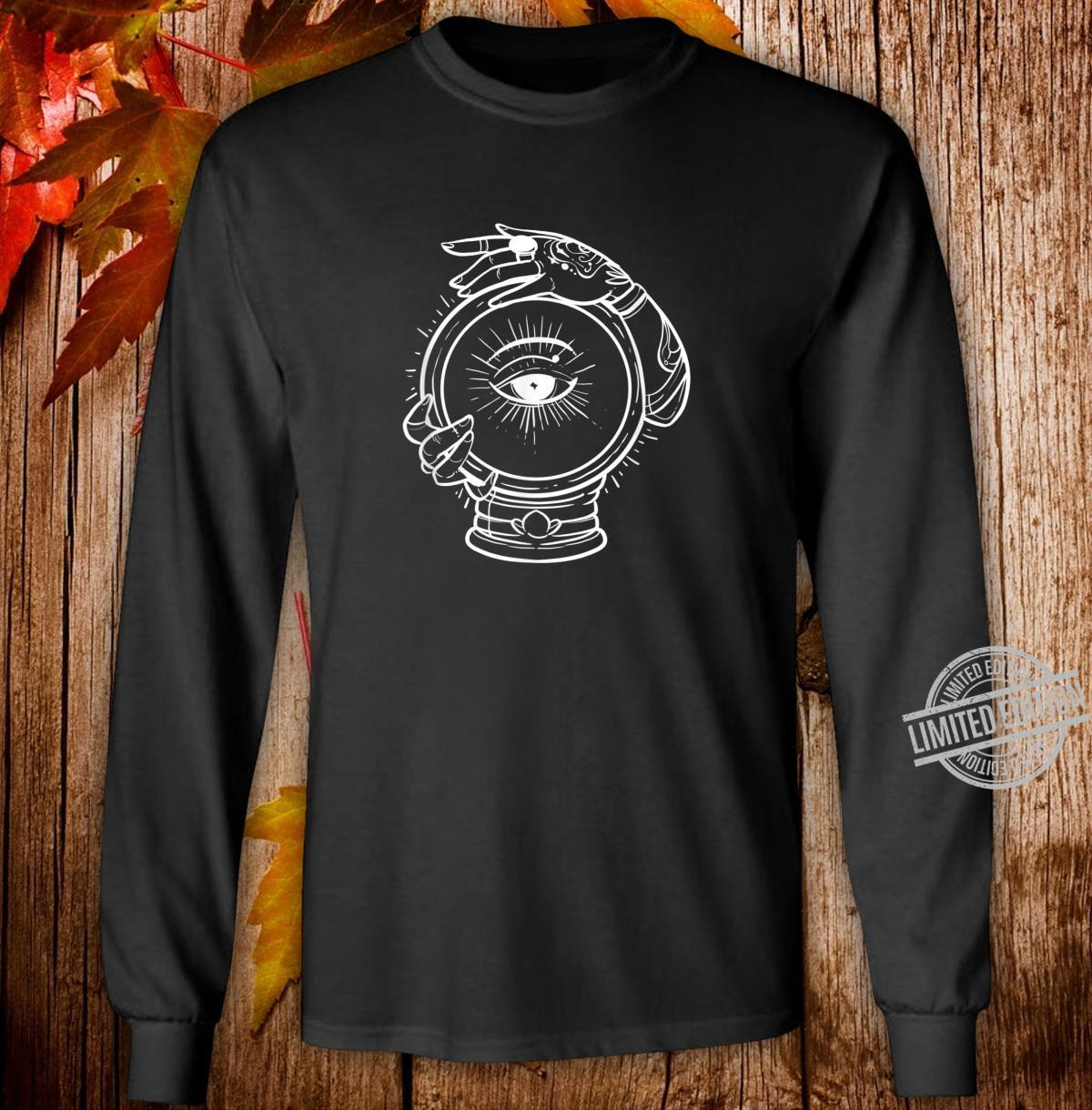 Third Eye Future Illuminati Or Inner Warrior Shirt long sleeved
