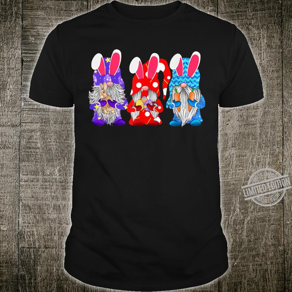 Three Gnomes Is For Easter Eggs Easter Day Shirt Shirt