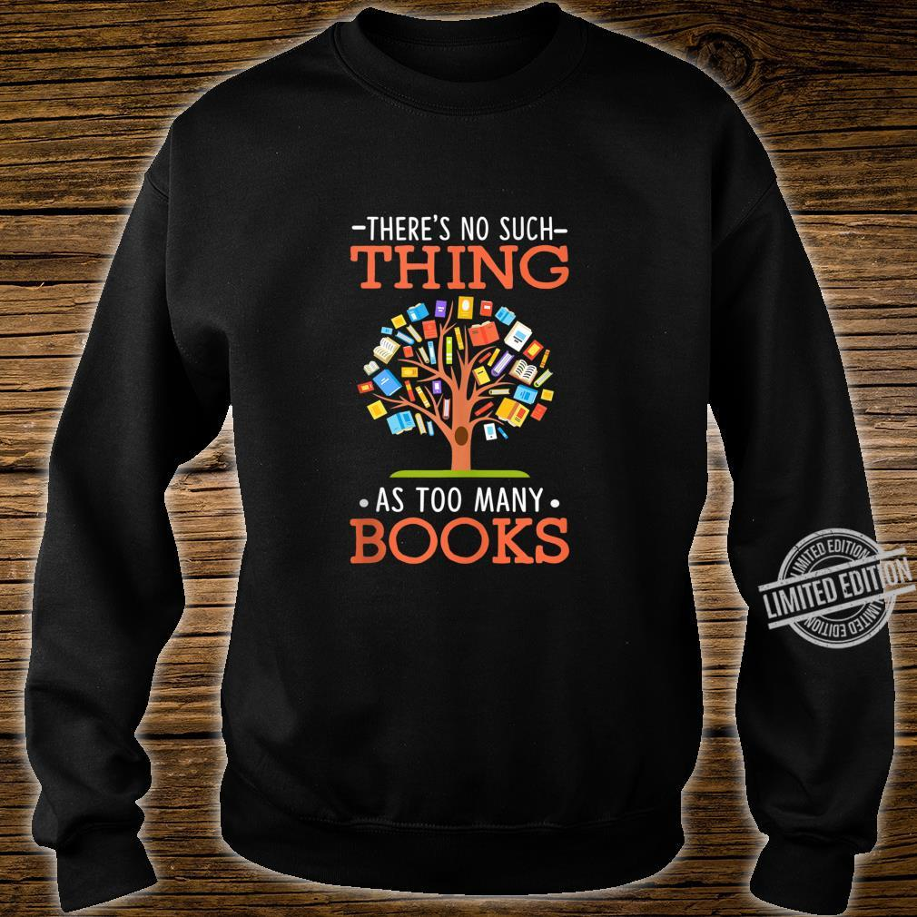 Too Many Books Tree Cute Reading Book Themed Outfits Shirt sweater