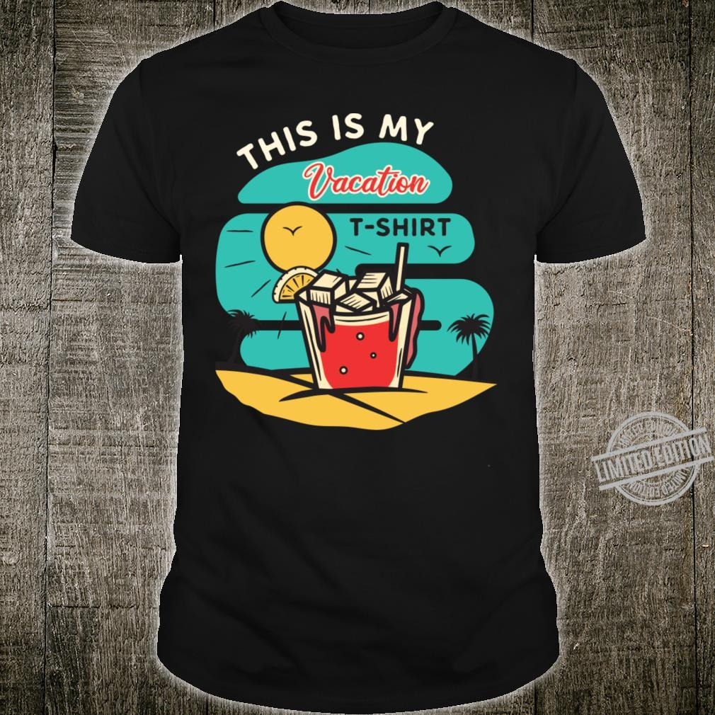 Vacation Outlined Shirt