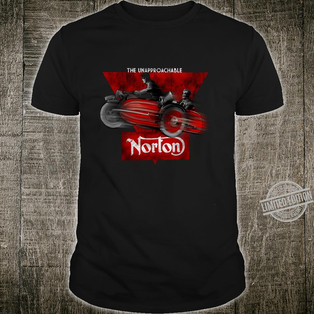 Vintage The Unapproachable Norton Motorcycle Shirt