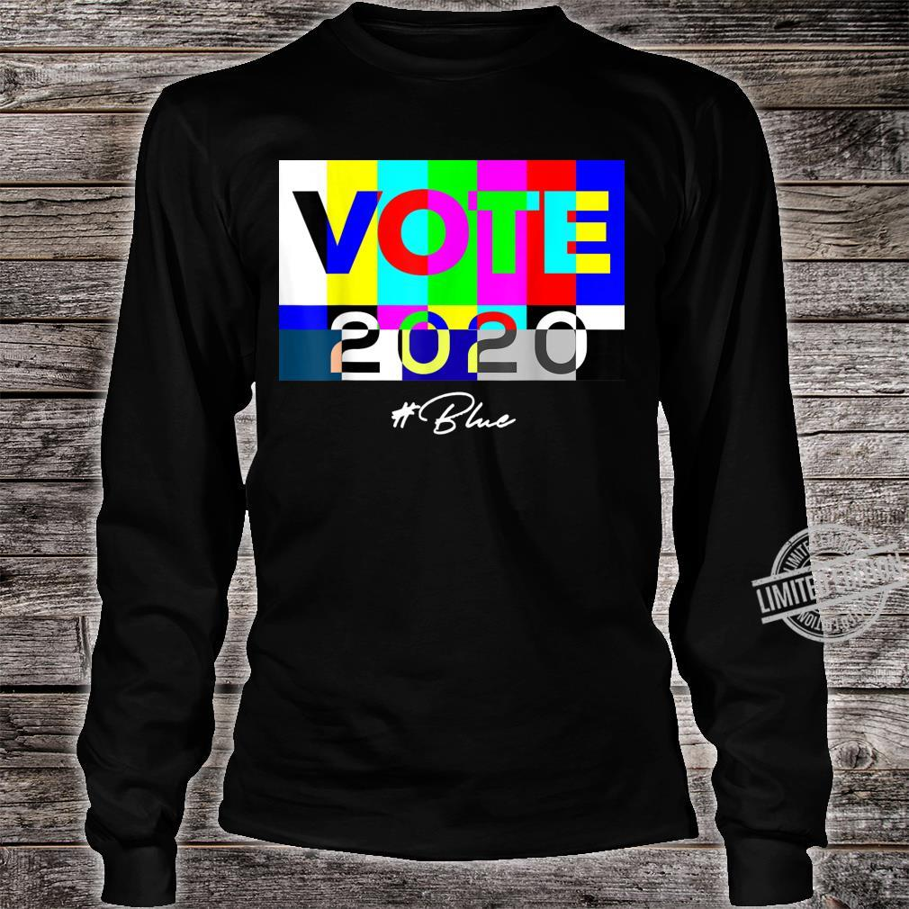Vote 2020 Blue Shirt long sleeved