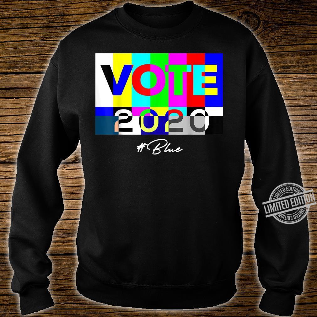 Vote 2020 Blue Shirt sweater