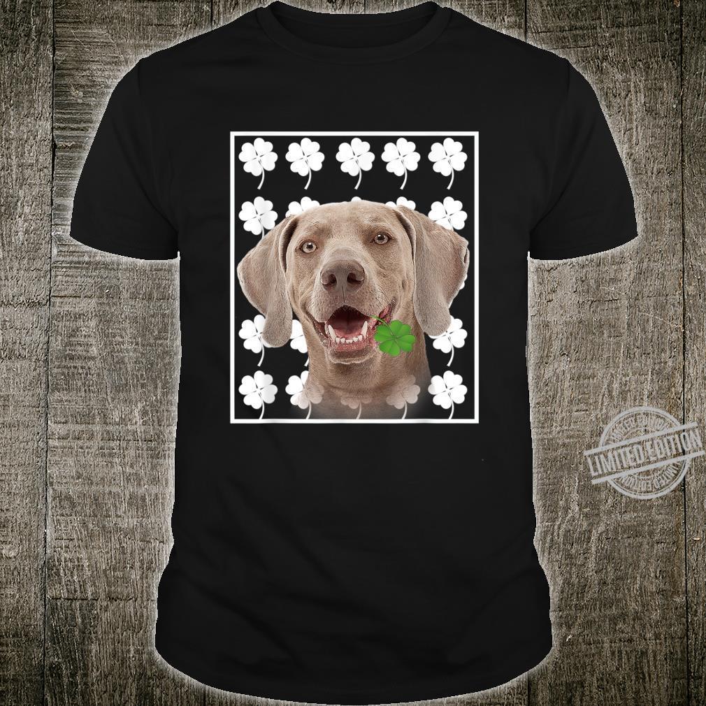 Weimaraner St. Patrick's Day Dog Shirt