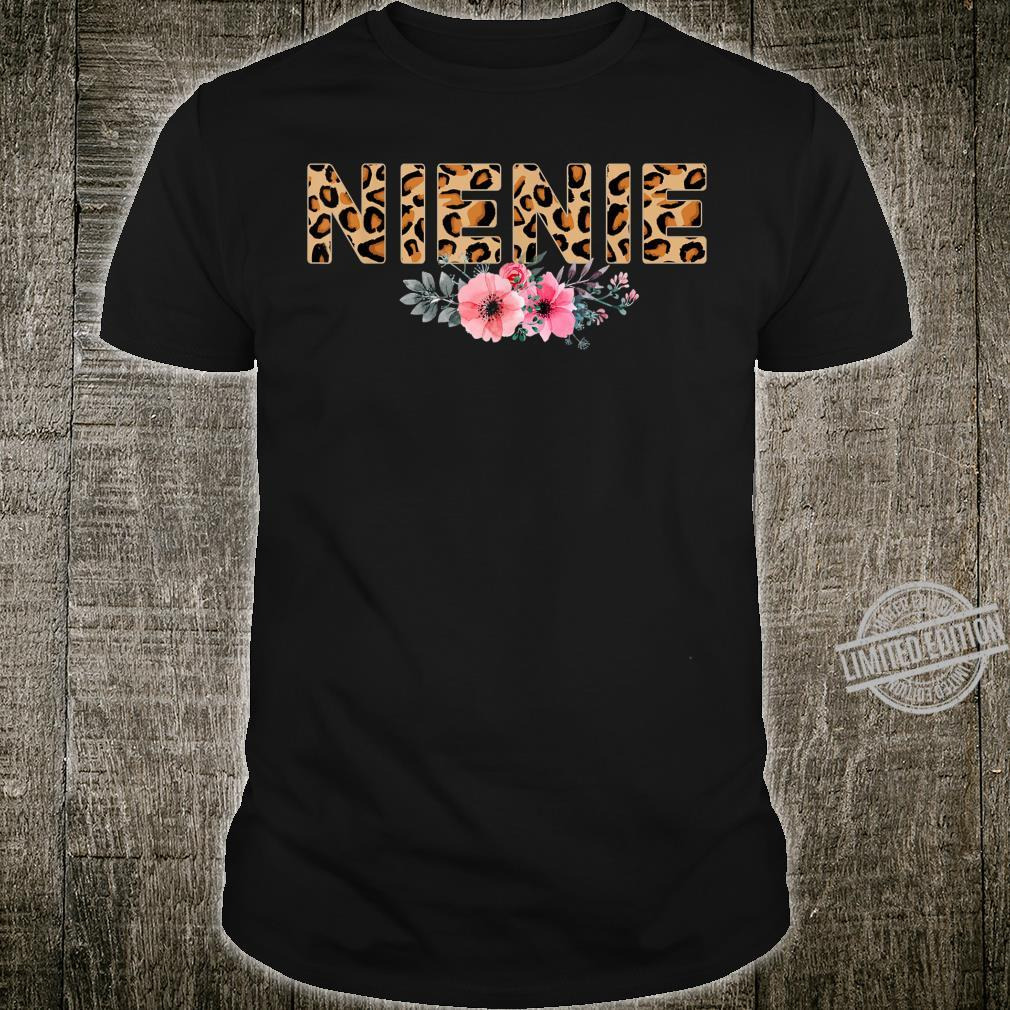 Women Apparel NieNie Leopard Floral Print Animal Trendy Shirt