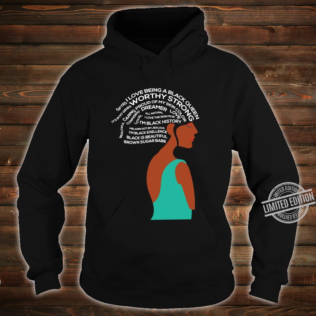 Women Empowerment Strong Black Special Shirt hoodie